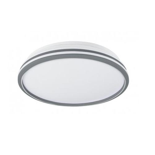 Plafón led 24W ESKRISS blanco-plata