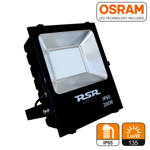 Proyector led 100W 6500k OSRAM negro